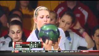 2012 NCAA Women\'s Collegiate Bowling Championships: FDU vs UMES game 5