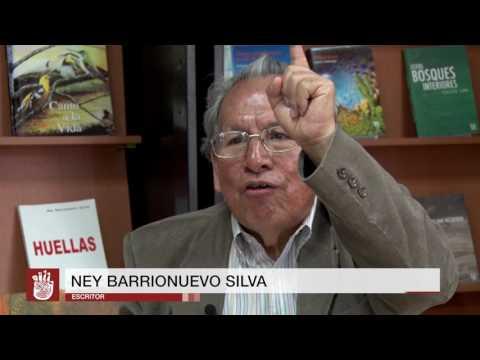 Libro Huellas de Ney Barrionuevo Silva