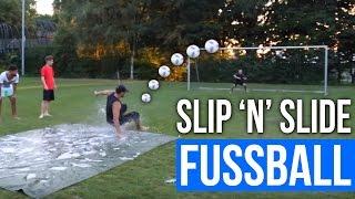 SLIP 'N' SLIDE FUSSBALL CHALLENGE #DUELL30    FaxxenTV