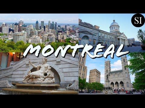 Montreal   Quebec   Canada   4K