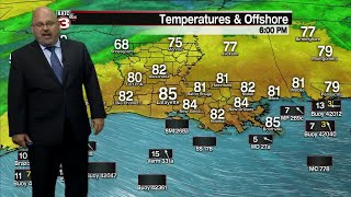 Rob's Friday 6pm Weather Forecast