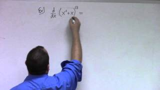 Basic Calculus: Lecture 9 part 1: higher derivatives and chain rule examples