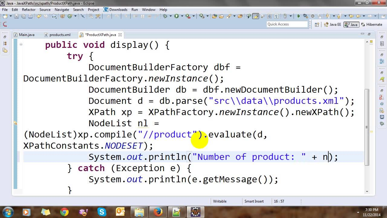 Read xml using xpath in java youtube.