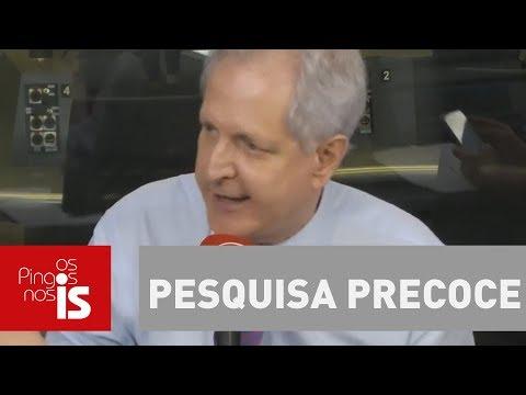 Augusto Nunes: Pesquisa precoce é tão confiável quanto bola de cristal