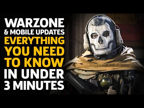 Call Of Duty Warzone & Modern Warfare Updates: Everything You Need To Know In Under 3 Minutes