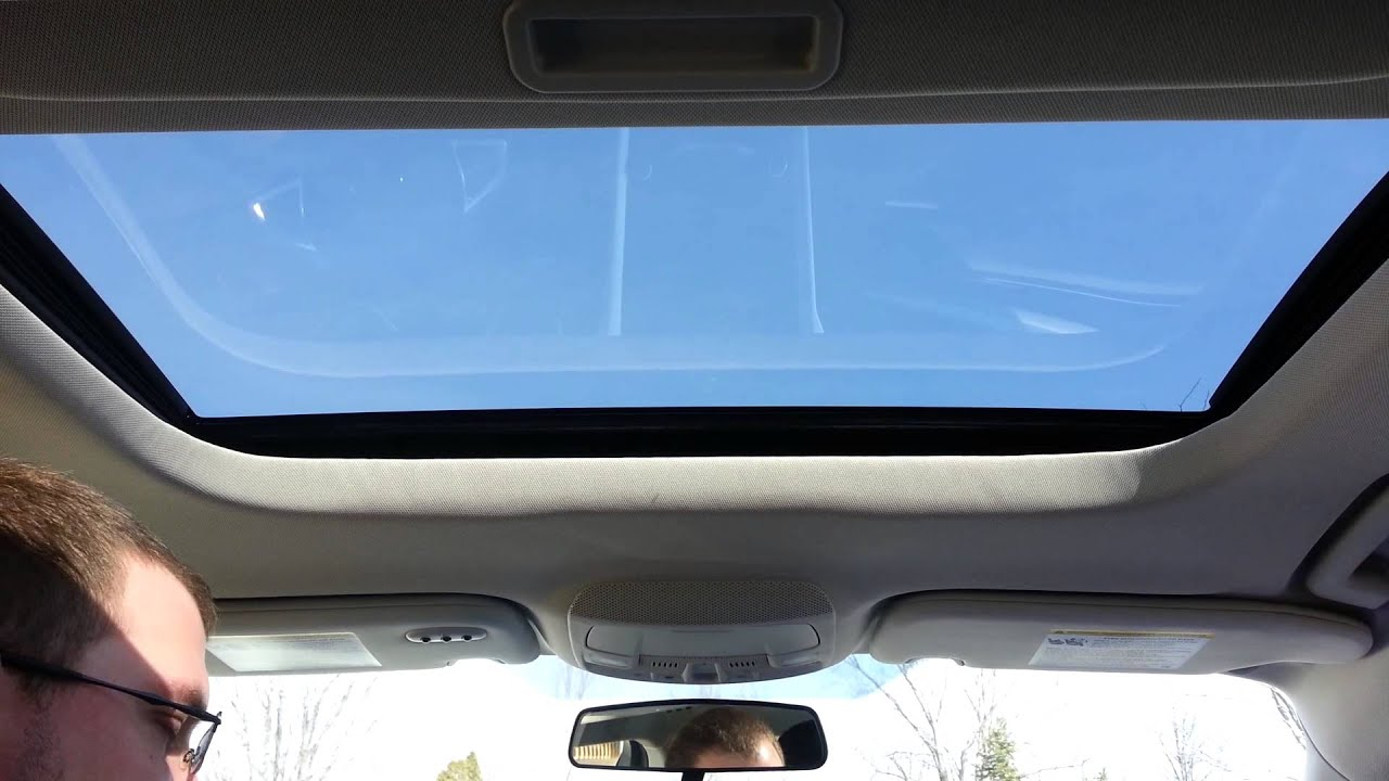 2013 Ford Fusion Moon Roof Problem Youtube