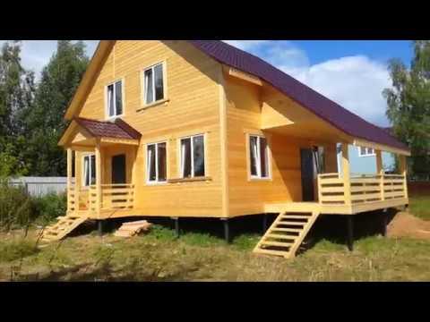 Новый дом под ключ в д. Малахово-Гибкино, 150 м2., Заокский р-он. Тул. обл. на уч-ке ИЖС 20 сот.