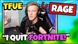 When Tfue gets TRIGGERED! TFUE RAGE COMPILATION Fortnite Funny Moments