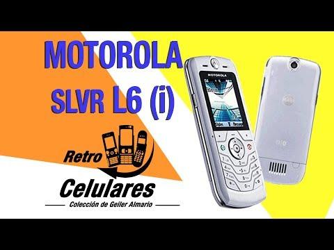 Recuerdas MOTOROLA SLVR L6 Colección Celulares Clásicos, Antiguos, Viejos RETRO CELULARES