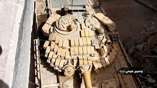 Сирийские танки входят в Ярмук