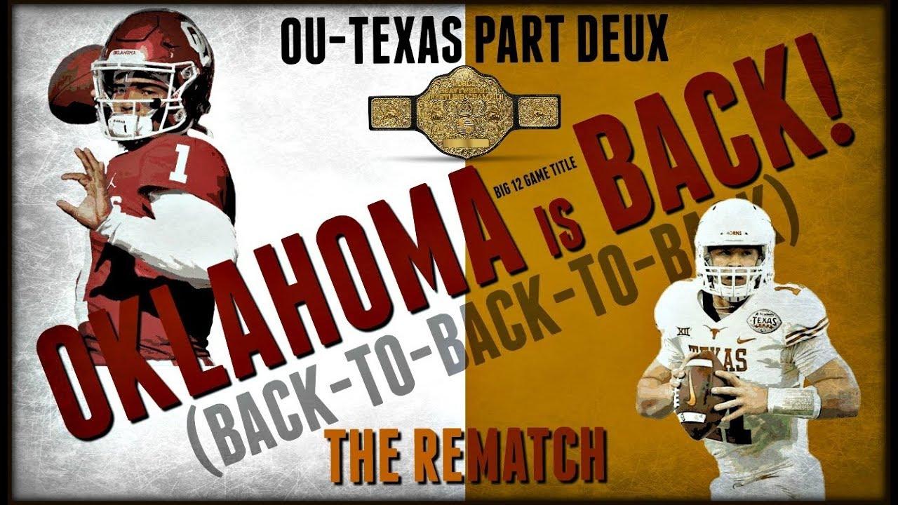 PREVIEW: No. 5 Oklahoma vs. No. 14 Texas For Big 12 ...
