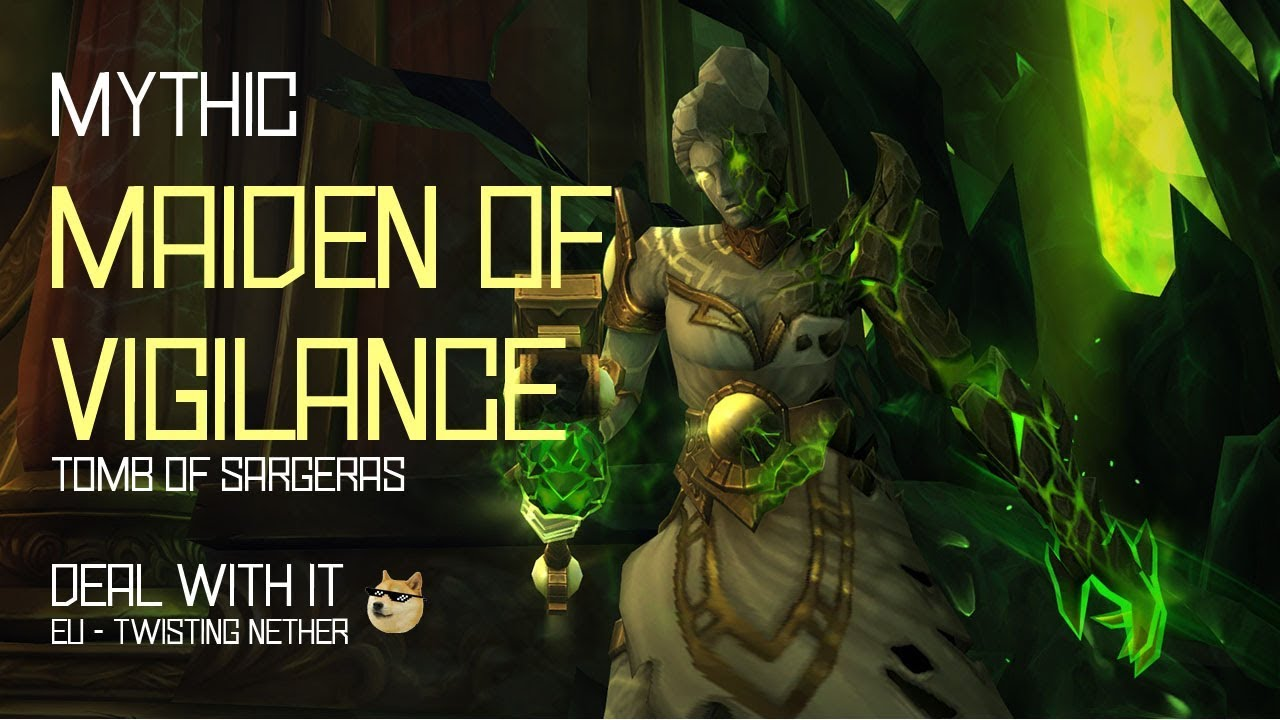 Deal With It vs Maiden of Vigilance Mythic