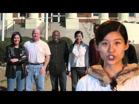Graduate Study at The University of Alabama