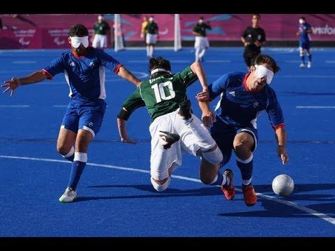 Football 5-a-side - FRA vs BRA - Men