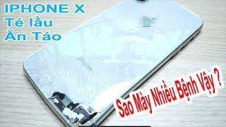 Iphone X chơi khăm nhưng cũng bị bác sỹ bắt bày - xém thì vô phế liệu