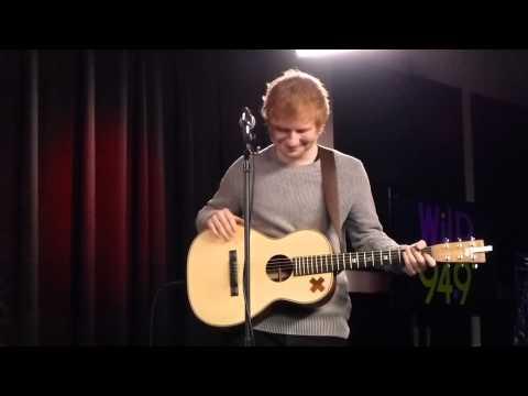 14-05.12 - WiLD 94.9 VIP Lounge: Ed Sheeran - Paranoid [Cover] (6b)