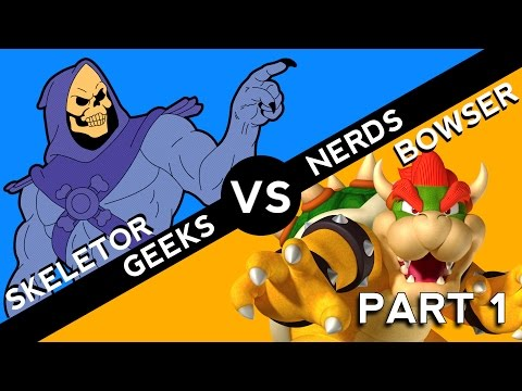 Skeletor vs Bowser: Who is the Most Persistent Bad Guy? (Part 1)