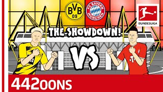 Erling Haaland vs. Robert Lewandowski Rap Battle - Powered by 442oons