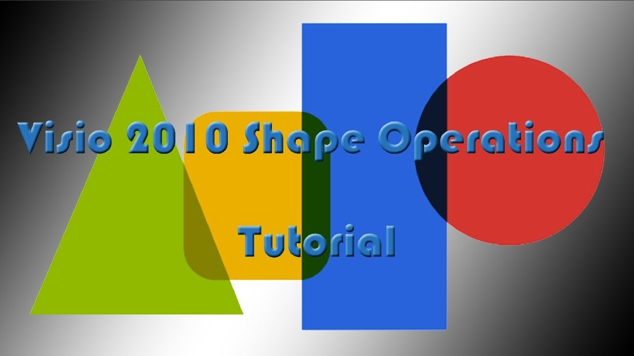 Drawing Lines In Visio : Visio shape operations tutorial youtube