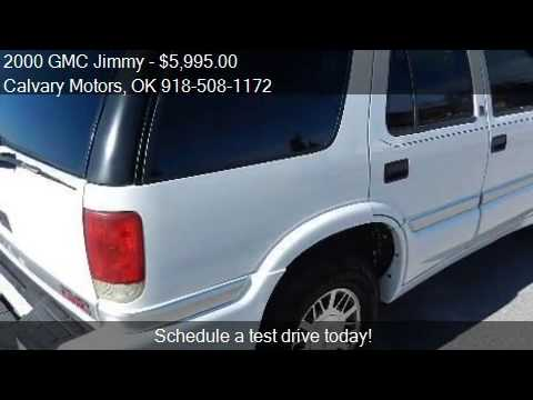 2000 Gmc Jimmy For Sale In Bixby Ok 74008 At The Calvary
