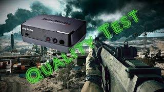 AVERMEDIA C281 Game Capture HD Quality Test | BF3