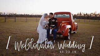McGlothin Wedding