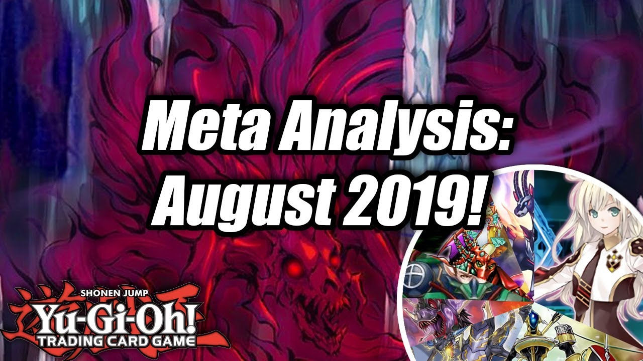 Yugioh Ban List April 2020.Yu Gi Oh Meta Analysis August 2019 Cardmarket Series Frankfurt