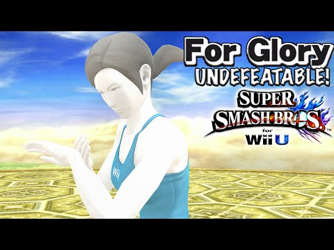 Let's Talk About Cloud    Undefeatable! ~ Wii Fit Trainer Ep. 17 - SSB4 Wii U (For Glory)