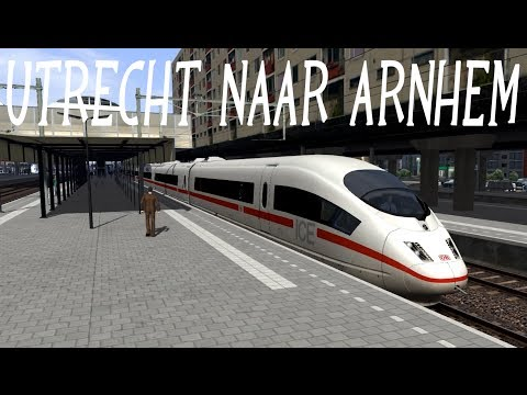 Train Simulator 2014, ICE3 van Utrecht naar Arnhem, (NL)
