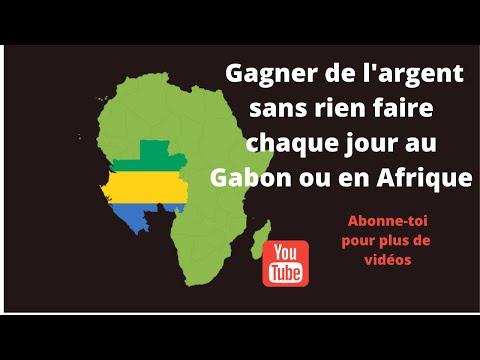 gagner de l'argent au GABON et en Afrique sur internet c'est possibles avec cette application!