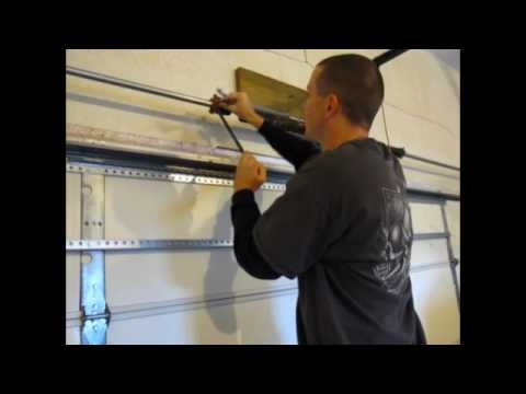 How To Install Garage Door Torsion Springs Part 1 Youtube