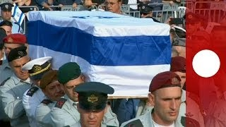 Ariel Sharon funeral: Video of burial ceremony at family farm