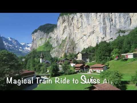Magical Train Ride to Jungfraujoch in Switzerland