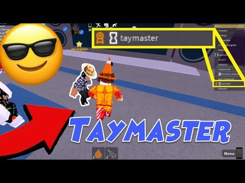 Creator Of Mad City Roblox Playing With Taymaster In Mad City Testing Server Mad City Creator Owner Youtube