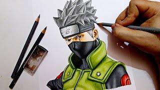 Drawing Kakashi Hatake    Naruto ナルト