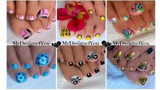 ♥ Toenail Art Compilation No.1 ♥ Compilación de Diseños de Uñas de Pies thumbnail