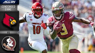 Louisville vs Florida State Condensed Game  ACC Football 2019-20