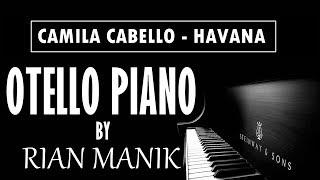 Tutorial Piano Camalia Cabello - Havana Karaoke + Lyrics (CC) Higher Key