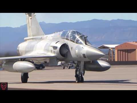 Military | UAE Mirage 2000 Fighter Jets At Nellis AFB