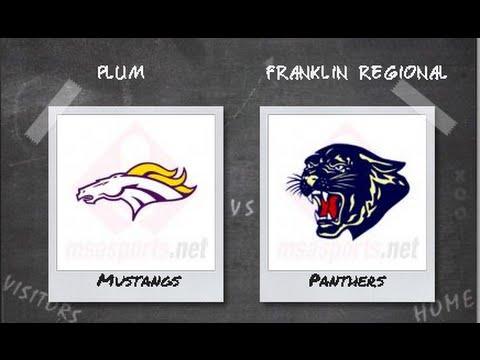 Plum boys Football at Franklin Regional September 16, 2016