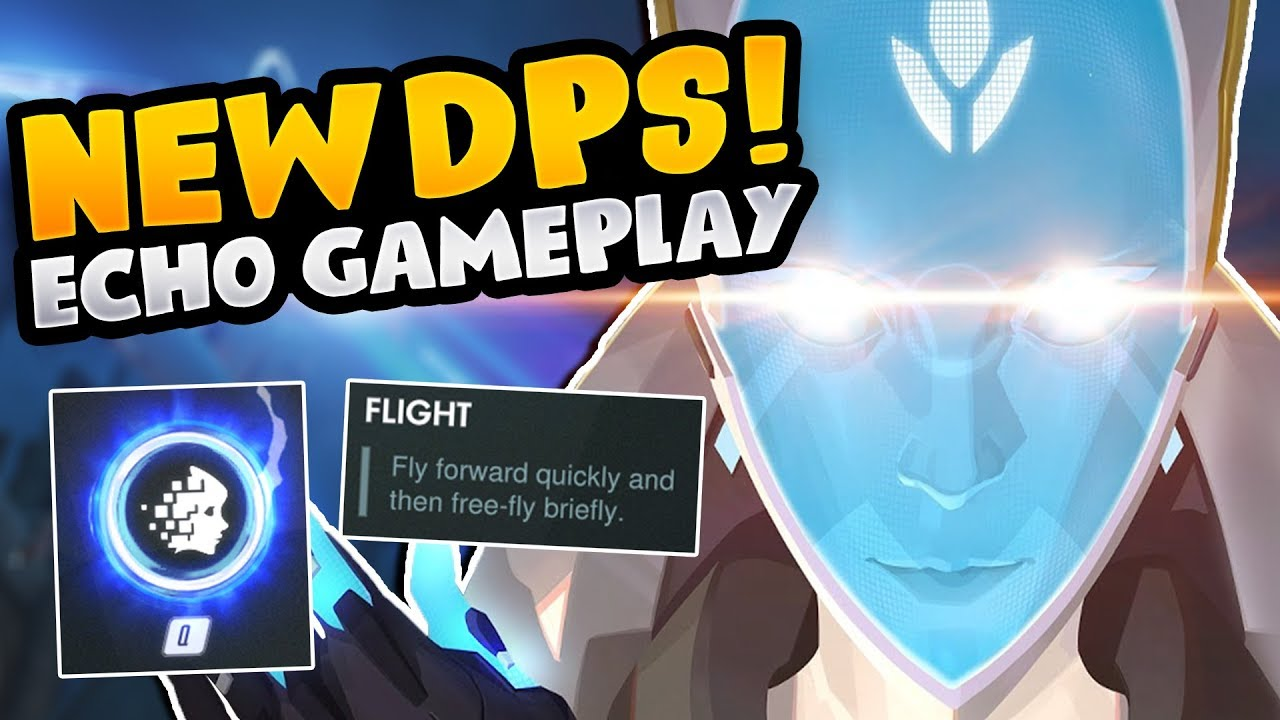 Download NEW DPS Hero Echo | All Abilities and Gameplay in Competitive Mode - Overwatch