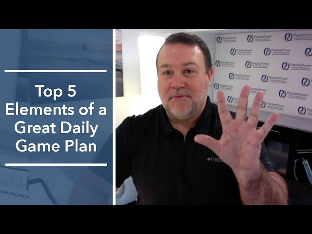 Top 5 Elements of a Great Daily Game Plan (Magellan Core Five) | The Magellan Network Show