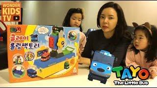 궁금해? 타요 클레이 롤링팩토리 점토놀이 Little Bus Tayo Clay Rolling Factory Car Making Kids Toy Play