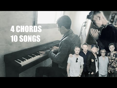 4 Chords 10 Songs Piano Version Pop Medley Youtube