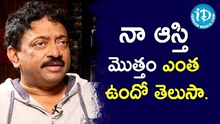 Director Ram Gopal Varma In Frankly With TNR || Talking Movies with iDream || iDream Filmnagar