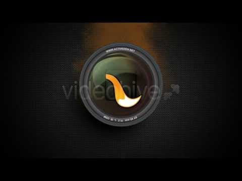 Camera Lens Logo Reveal After Effects Template YouTube
