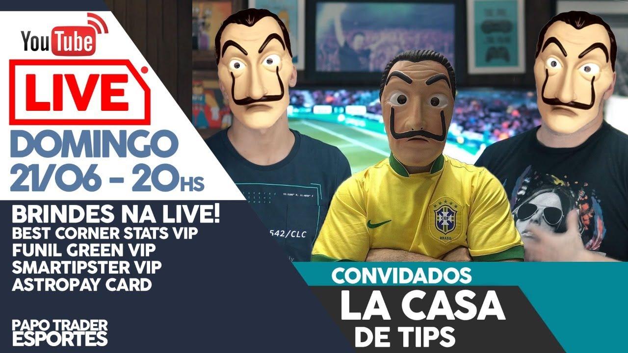 Papo Trader Esportes Entrevista - Professor La Casa de Tips
