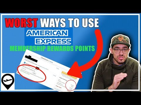 WORST Ways To Use AMEX Points - Don't Do THIS
