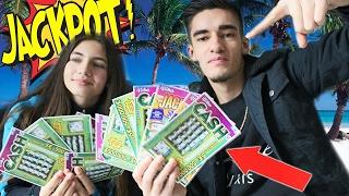 LE JACKPOT EN VIDEO ? 100 EUROS JEUX A GRATTER CHALLENGE