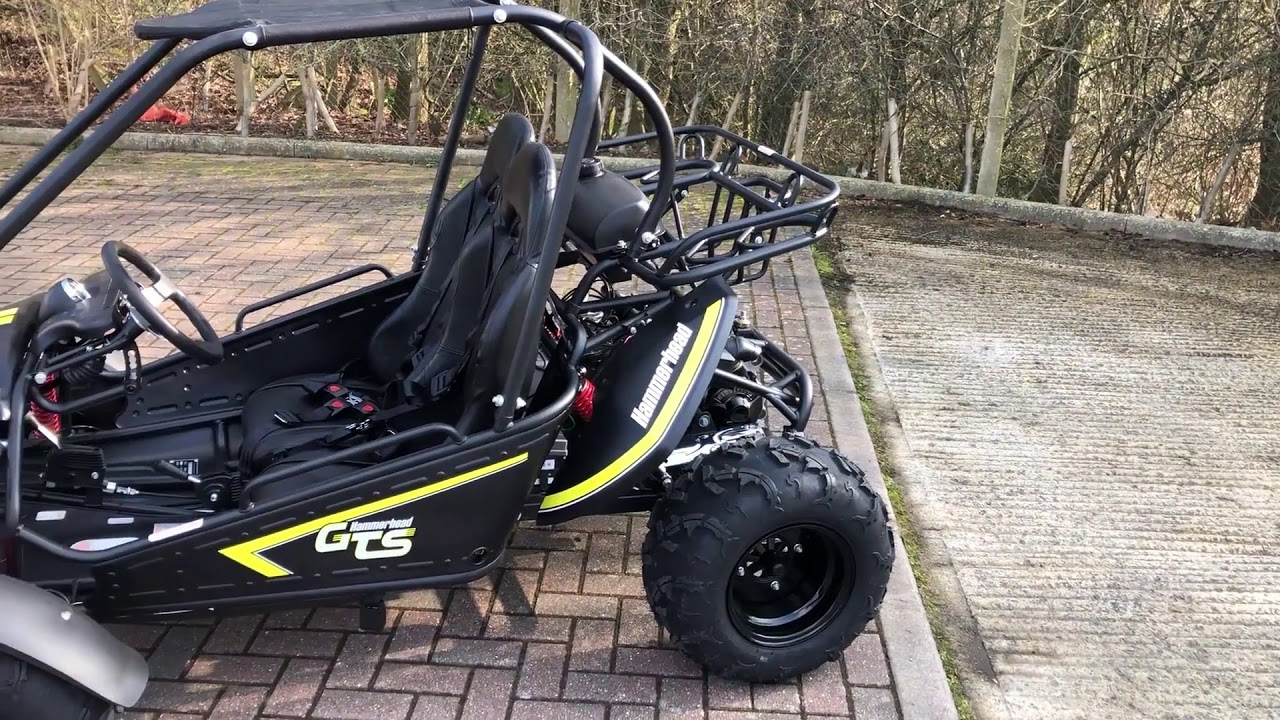 GTS 150 Full Size Petrol Off Road Buggy - Black & Yellow